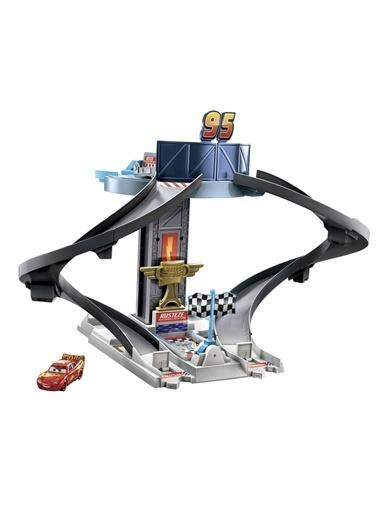 Cars Rust-Eze Yarış Kulesi Oyun Seti GJW42 Renkli